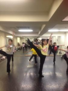 アニー対策ダンス写真